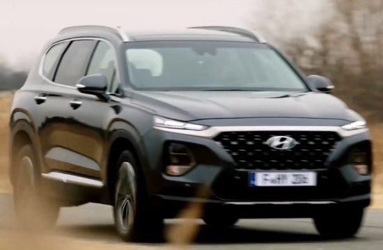 2019 santa fe capture 1 550x360 at 2019 Hyundai Santa Fe Revealed in First Commercial
