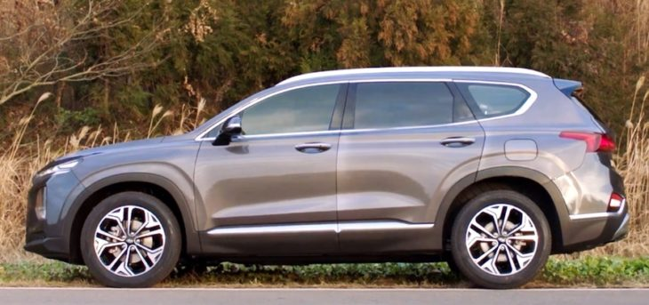 2019 santa fe capture 2 730x343 at 2019 Hyundai Santa Fe Revealed in First Commercial