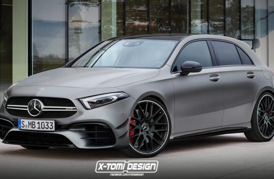 2020 Mercedes AMG A45 550x360 at This Is the 2020 Mercedes AMG A45, Probably