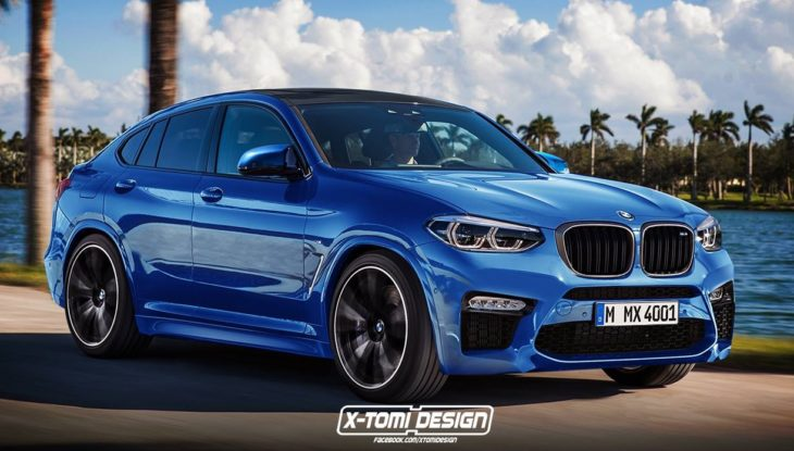 2020 bmw x4m 730x415 at 2020 BMW X4M Speculatively Rendered, Looks Great