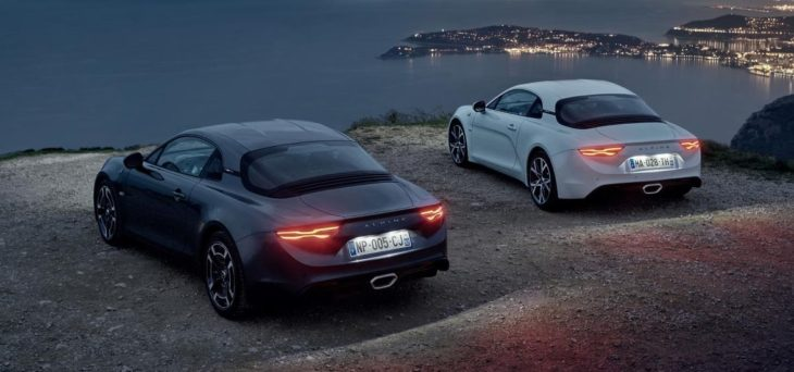 A110 Legende and A110 Pure4 730x342 at Alpine A110 Premiere and Légende Editions Coming to Geneva