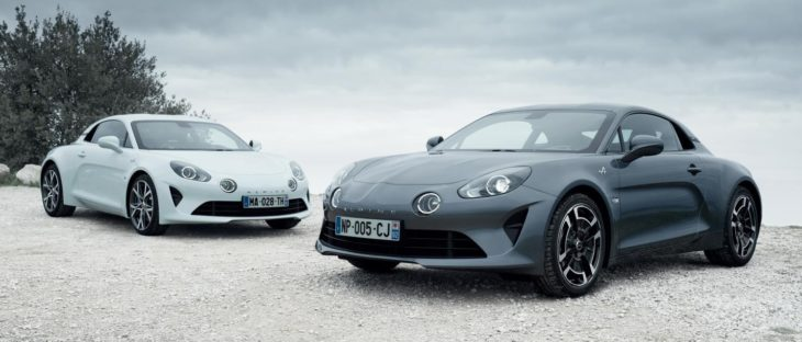 A110 Pure and A110 Legende1 730x312 at Alpine A110 Premiere and Légende Editions Coming to Geneva