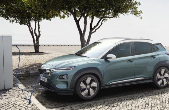 All New Hyundai Kona Electric 1 550x360 at 2019 Hyundai Kona Electric Goes Official with 292 Mile Range