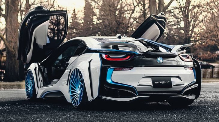 BMW i8 Dark Knight on Forgiato Wheels 2 730x406 at BMW i8 Dark Knight on Forgiato Wheels