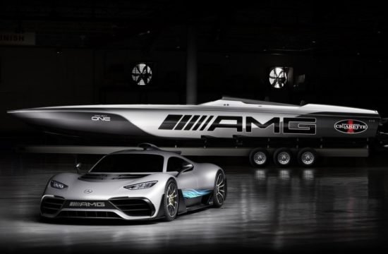 Cigarette Racing 515 Project ONE 1 550x360 at AMG Inspired Cigarette Racing 515 Project ONE Boat Unveiled