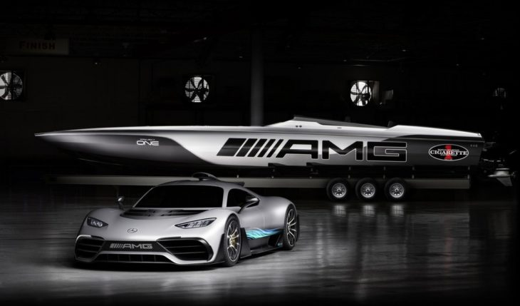 Cigarette Racing 515 Project ONE 1 730x429 at AMG Inspired Cigarette Racing 515 Project ONE Boat Unveiled