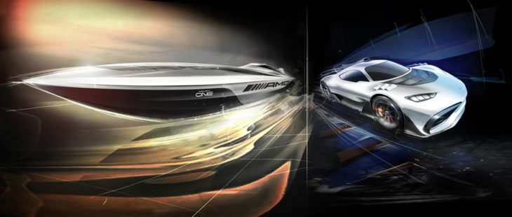 Cigarette Racing 515 Project ONE 730x310 at AMG Teases Cigarette Racing 515 Project ONE Speedboat