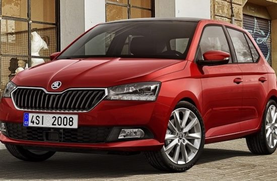 Fabia FL FRONT RED 550x360 at 2019 Skoda Fabia Previewed Ahead of Geneva Debut