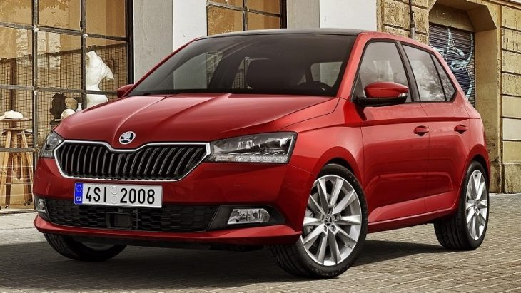 Fabia FL FRONT RED 730x411 at 2019 Skoda Fabia Previewed Ahead of Geneva Debut