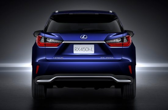 Lexus RX 450hL 550x360 at Pricing Confirmed for 2018 Lexus RX 450hL Three Row SUV