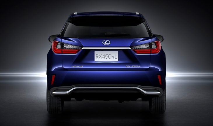 Lexus RX 450hL 730x432 at Pricing Confirmed for 2018 Lexus RX 450hL Three Row SUV