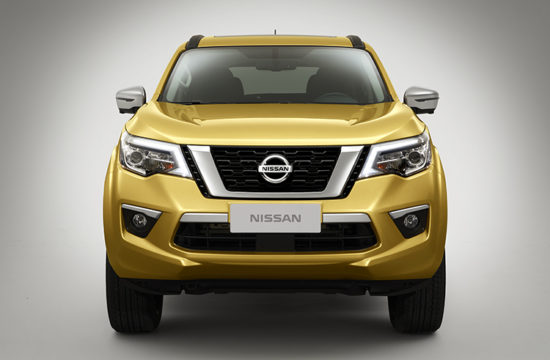 NissanTerra02 750px 550x360 at 2019 Nissan Terra Frame Based SUV Set for Spring Debut