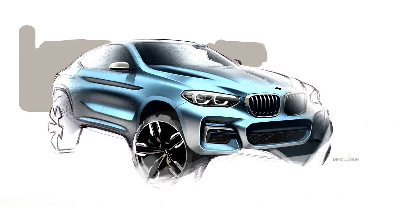 2020 Bmw X4m Speculatively Rendered Looks Great