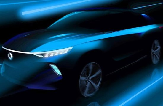 SsangYong e SIV 1 550x360 at SsangYong e SIV Electric Concept Headed for Geneva Debut