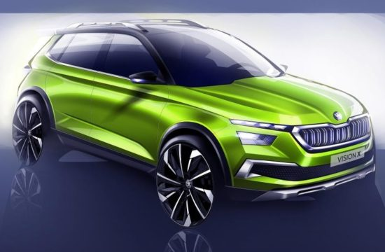 VISION X 3 550x360 at Geneva Preview: Skoda Vision X Concept