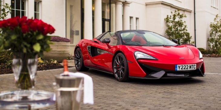 Vermillion Red McLaren 570S Spider 1 730x366 at One Off Vermillion Red McLaren 570S Spider for Valentine's Day