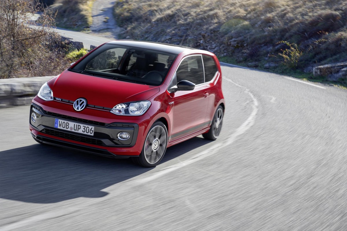 2018 vw up gti priced from 13 750 in the uk. Black Bedroom Furniture Sets. Home Design Ideas
