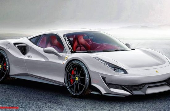 ferrari 488 gto render 550x360 at Ferrari 488 GTO (Sport Special) Rendering Seems Spot On