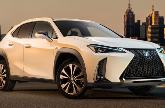 lexus ux f sport 550x360 at 2019 Lexus UX Crossover Previewed Ahead of Geneva Debut