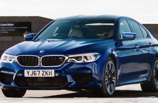 2018 BMW M5 UK 1 550x360 at 2018 BMW M5 Priced from £89,645 in the UK