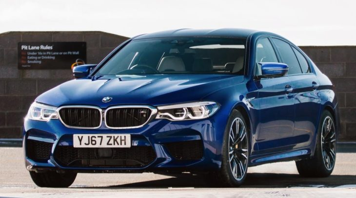 2018 BMW M5 UK 1 730x407 at 2018 BMW M5 Priced from £89,645 in the UK