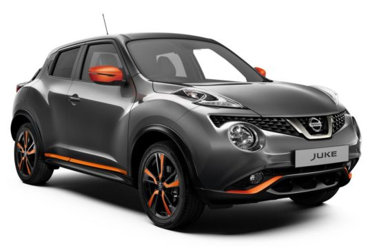 2018 Nissan Juke 1 550x360 at 2018 Nissan Juke Gets Interesting Upgrades