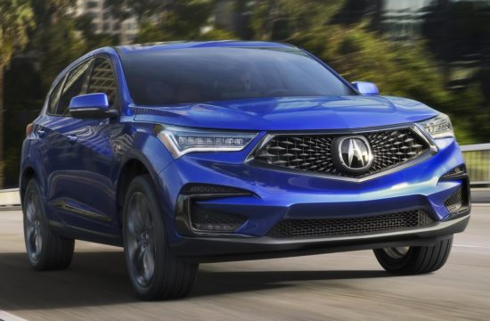 2019 Acura RDX 1 550x360 at 2019 Acura RDX Is Handsome, Dynamic, High Tech