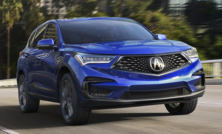 2019 Acura RDX 1 730x441 at 2019 Acura RDX Is Handsome, Dynamic, High Tech