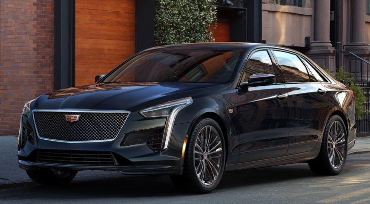 2019 Cadillac CT6 V Sport 1 730x404 at 2019 Cadillac CT6 V Sport Announced with 550 Horsepower