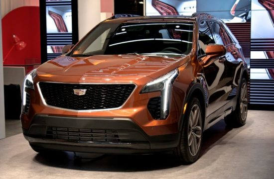 2019 Cadillac XT4 1 550x360 at 2019 Cadillac XT4 Compact SUV Unveiled in New York