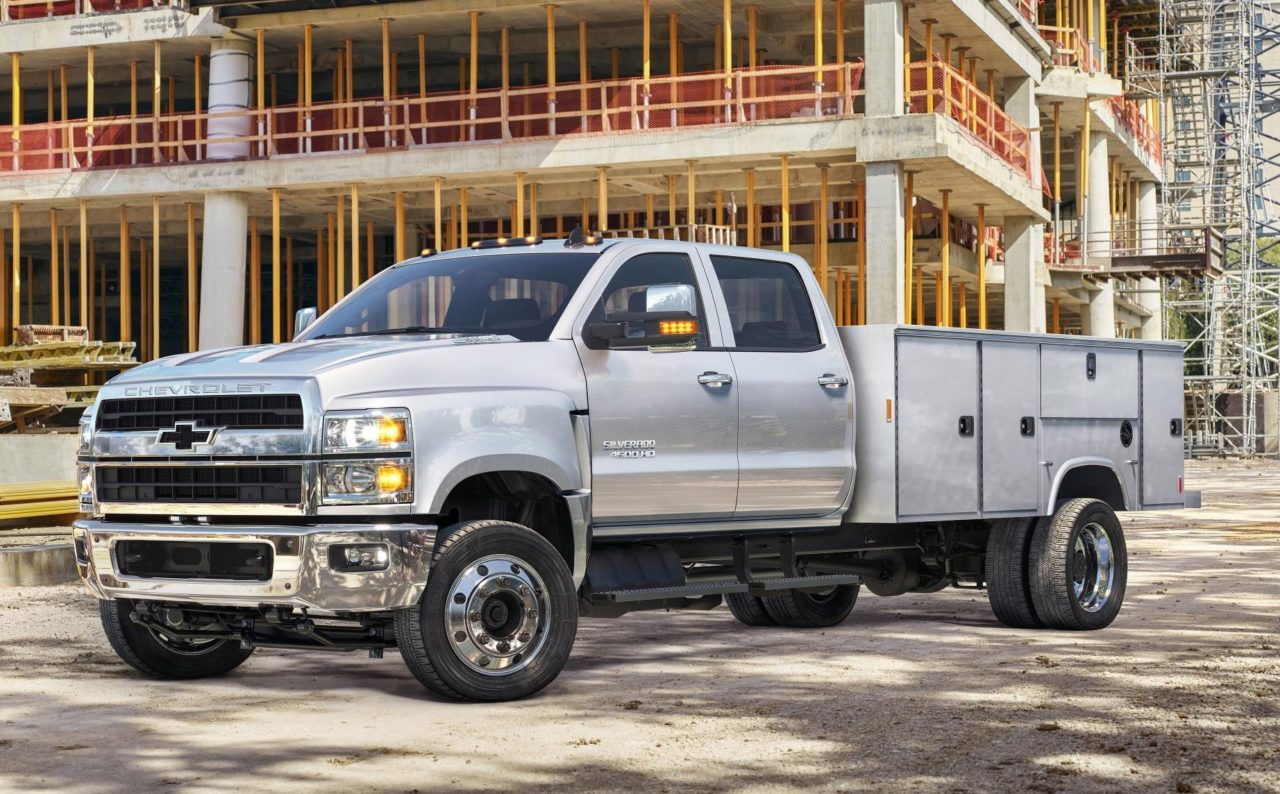 Official 2019 Chevrolet Silverado Heavy Duty 4500hd