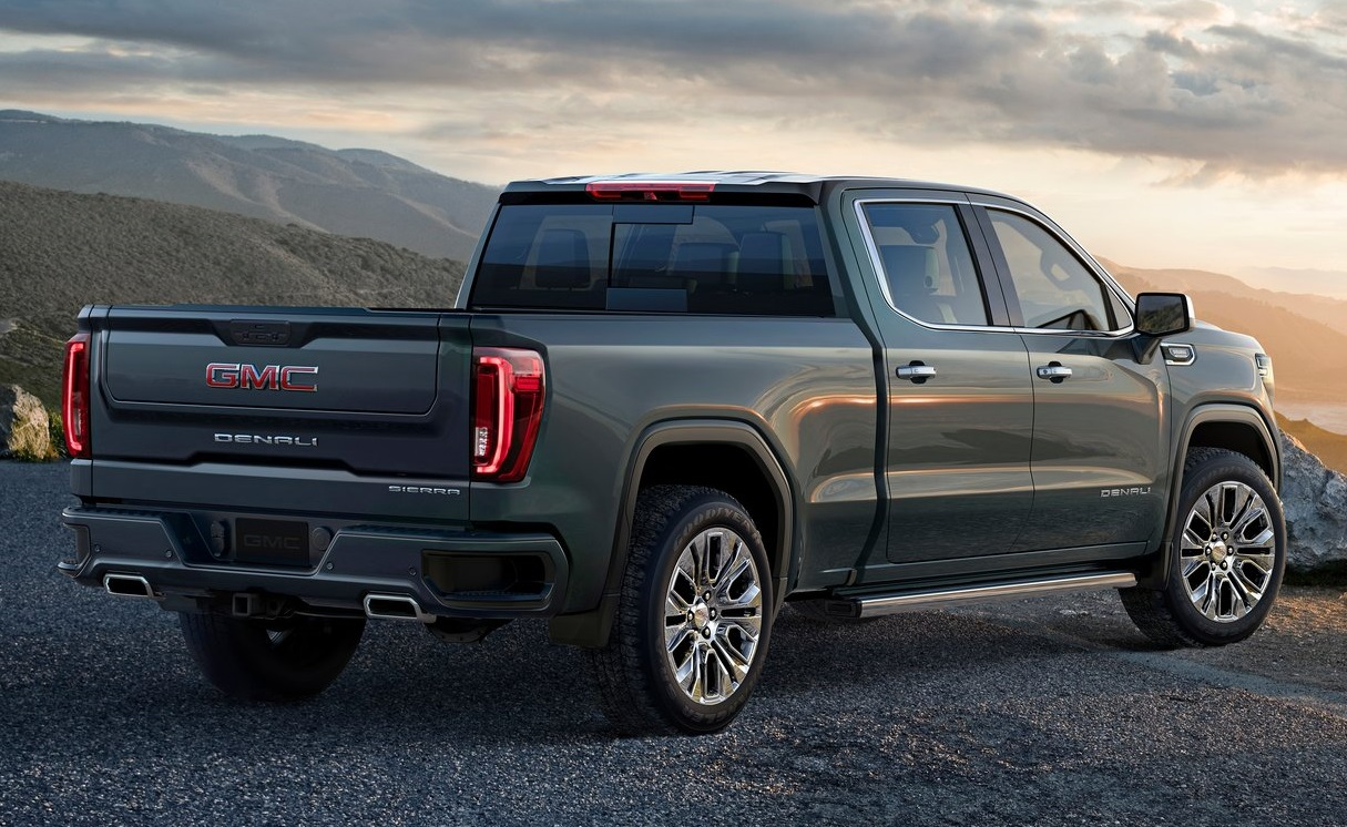 2019 GMC Sierra Revealed with Super Clever Tailgate