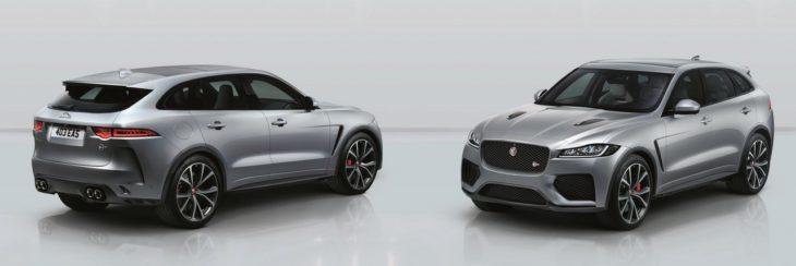 2019 Jaguar F Pace SVR 1 1 730x244 at 2019 Jaguar F Pace SVR Unveiled with 550 Horsepower