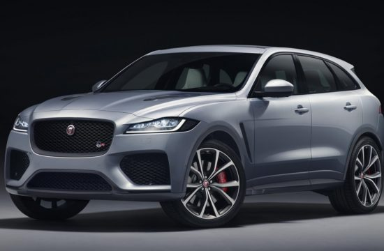 2019 Jaguar F Pace SVR 1 550x360 at 2019 Jaguar F Pace SVR Unveiled with 550 Horsepower