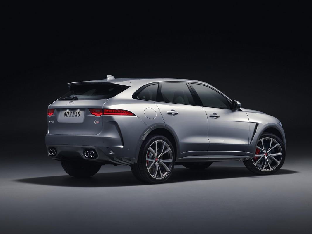 2018 Jaguar Xe Svr >> 2019 Jaguar F-Pace SVR Unveiled with 550 Horsepower