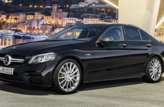 2019 Mercedes AMG C43 1 550x360 at Official: 2019 Mercedes AMG C43 with 390 Horsepower