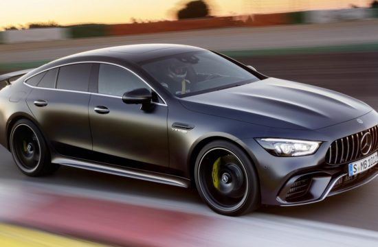 2019 Mercedes AMG GT 4 Door Coupe 1 550x360 at Official: 2019 Mercedes AMG GT 4 Door Coupe