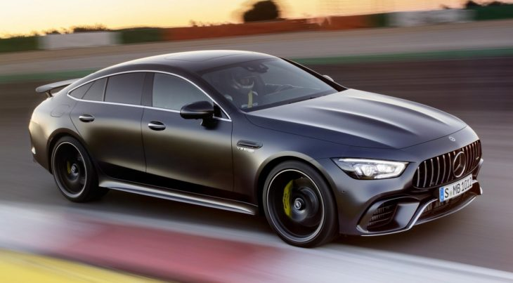 2019 Mercedes AMG GT 4 Door Coupe 1 730x403 at Official: 2019 Mercedes AMG GT 4 Door Coupe
