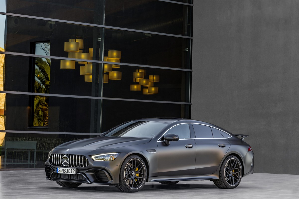 Official 2019 mercedes amg gt 4 door coupe for Mercedes benz 4 door