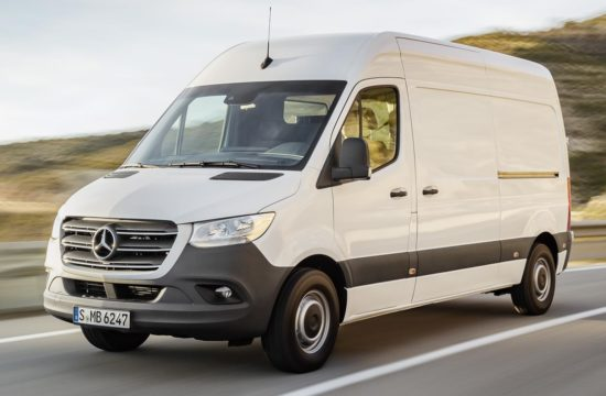 2019 Mercedes Sprinter uk 1 550x360 at 2019 Mercedes Sprinter Van Priced from £24,350 in UK