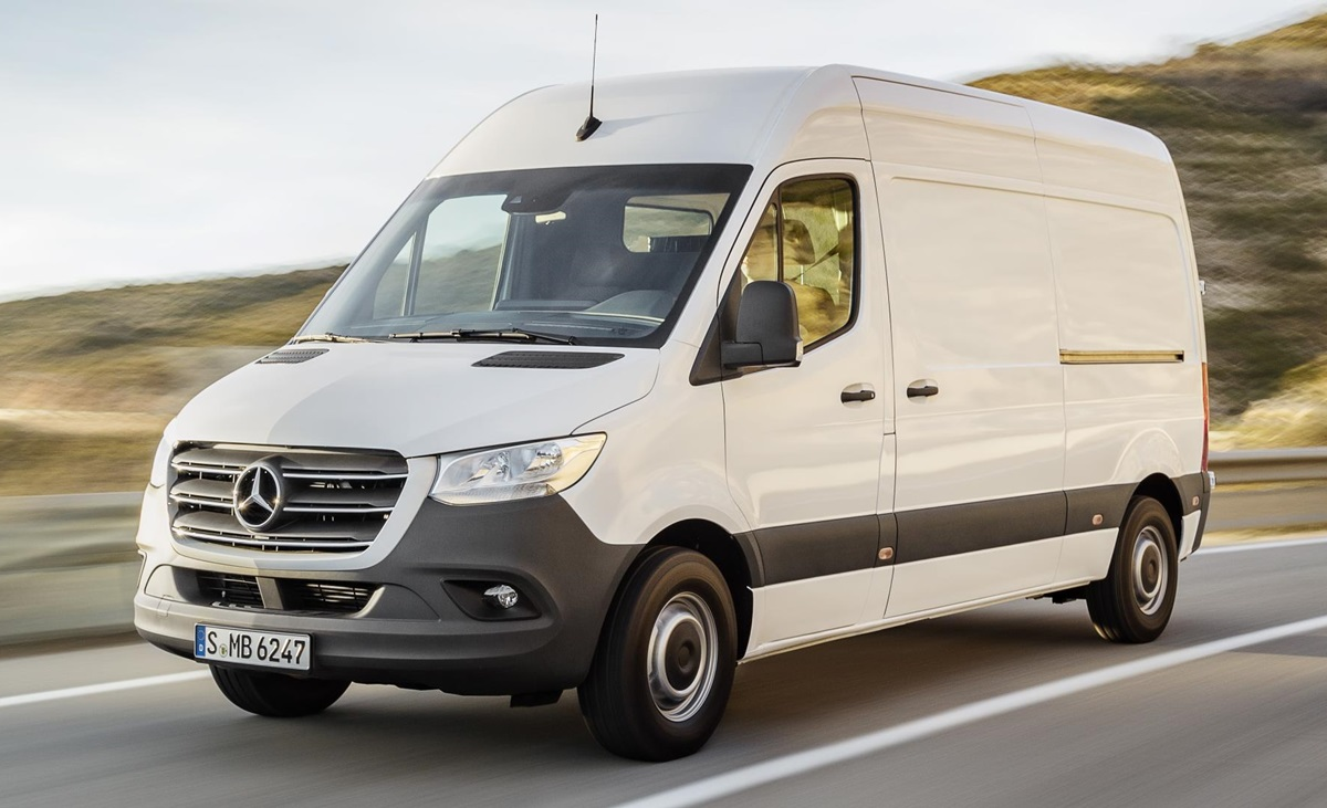 2019 mercedes sprinter van priced from 24 350 in uk. Black Bedroom Furniture Sets. Home Design Ideas