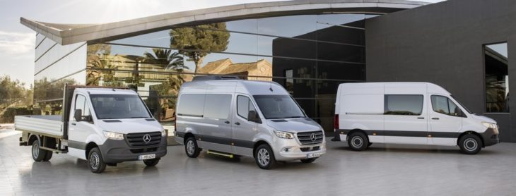 2019 Mercedes Sprinter uk 2 730x278 at 2019 Mercedes Sprinter Van Priced from £24,350 in UK