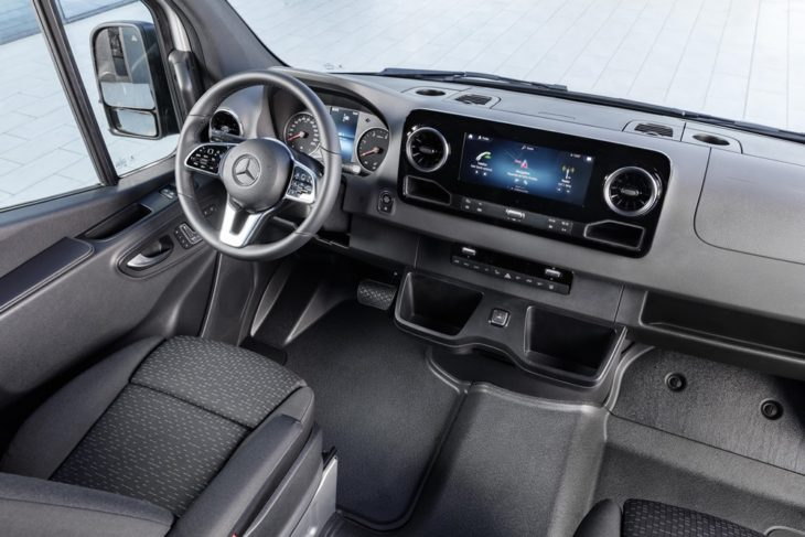 2019 Mercedes Sprinter uk 3 730x487 at 2019 Mercedes Sprinter Van Priced from £24,350 in UK