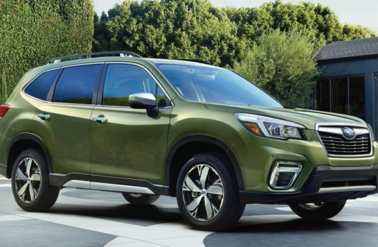 2019 Subaru Forester 1 550x360 at 2019 Subaru Forester Arrives with Tons of Features
