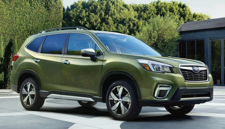 2019 Subaru Forester 1 730x419 at 2019 Subaru Forester Arrives with Tons of Features