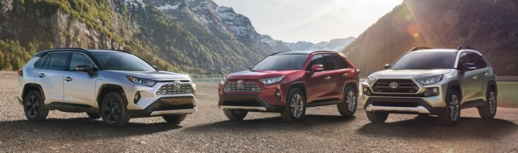 2019 Toyota RAV4 1 1 730x216 at 2019 Toyota RAV4 Goes Official with Aggressive Design