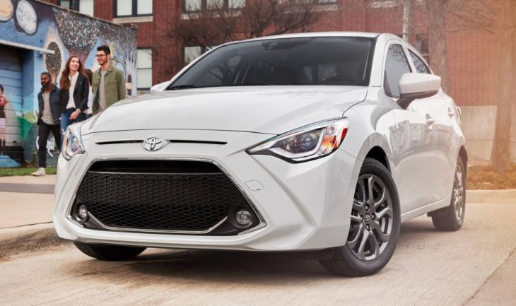 2019 Toyota Yaris Sedan 1 730x433 at 2019 Toyota Yaris Sedan Unveiled with 40 mpg Rating