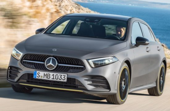 2019 a class uk 1 550x360 at 2019 Mercedes A Class   UK Pricing and Specs