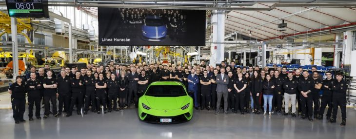 503755 730x285 at 10,000th Lamborghini Huracan Rolls Off Production Line