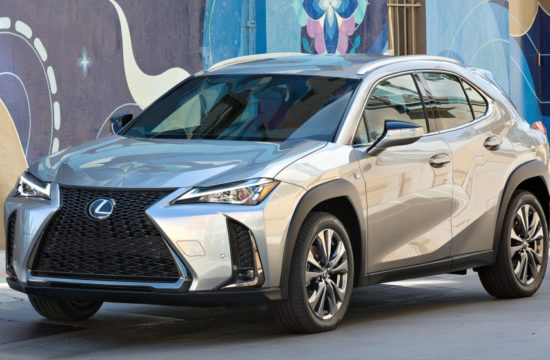 American Spec Lexus UX 2 550x360 at American Spec 2019 Lexus UX Detailed Ahead of NY Debut